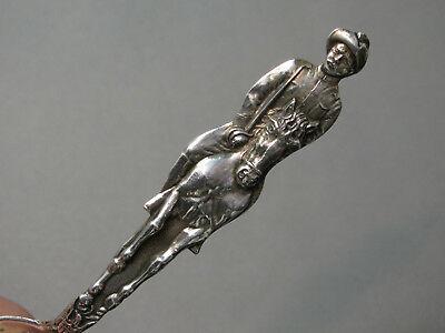 Theodore Roosevelt Sterling Silver Souvenir Spoon