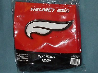 FULMER helmet bag NEW Black to protect NWT
