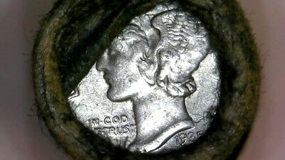 1916 -1945 Mercury Dime Full Unsearched Roll From Ccc- Auctions Trusted Seller2