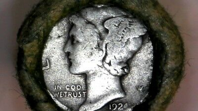 1916 -1945 Mercury Dime Full Unsearched Roll From Ccc- Auctions Trusted Seller1