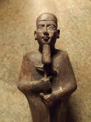 Egyptian statue replica of the creator God Ptah. Patron of arts & creativity.**