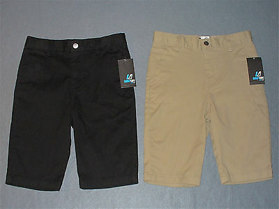NWT Boys Chino Shorts by Amplify - U Pick Size + Color