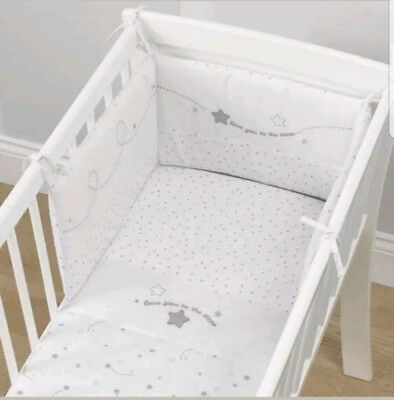 Love You To The Stars Crib Coverlet And Bumper