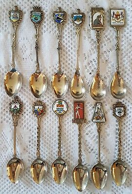#41 - Lot of 12 Spoons - Marked with WE Crest - Made in Holland