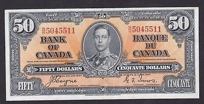 Canada - 1937 -  $50 Banknote - Coyne & Towers