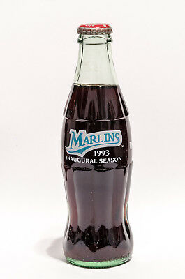 Coca-Cola Bottle - 1993 FLORIDA MARLINS - INAUGURAL SEASON - Coke