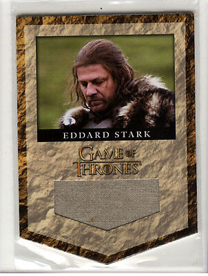 Game of Thrones Season 2  Eddard Stark House Banner Material Relic Card RS1
