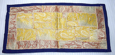 Vintage tapestry patchwork hippy embroidered wall hanging home decor. i17-68