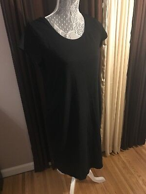 H&M MAMA Black  Dress - L -  Black