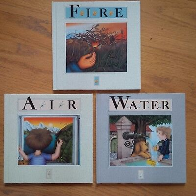 Lot of 3 Adrienne Soutter-Perrot Books  ~ WATER FIRE AIR ~ BRAND NEW UNREAD