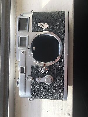 Leica M3 35mm Double Stroke Rangefinder Film Camera *CLEAR VIEWFINDER*