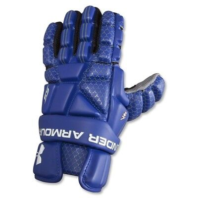 Under Armour Player SS Lacrosse Gloves - 2013 Model in Royal Blue 30cm