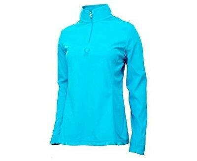 (40, Blue) - Spyder Women's Shimmer bug Top. Shipping Included