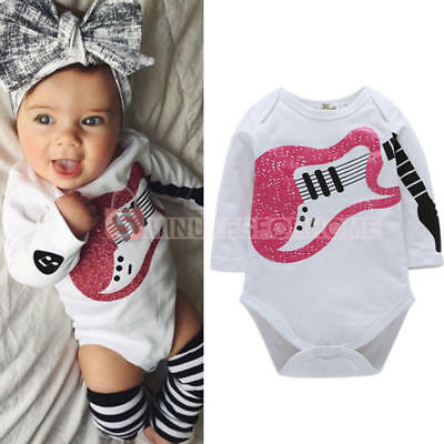 Toddler Infant Romper Newborn Cotton Warm Outfit Bobywear Kids Baby Clothes x 1