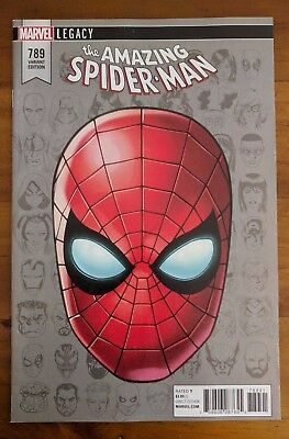 AMAZING SPIDER-MAN #789 1:10 Headshot Variant NM