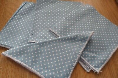 4x cotton serviette knapkins