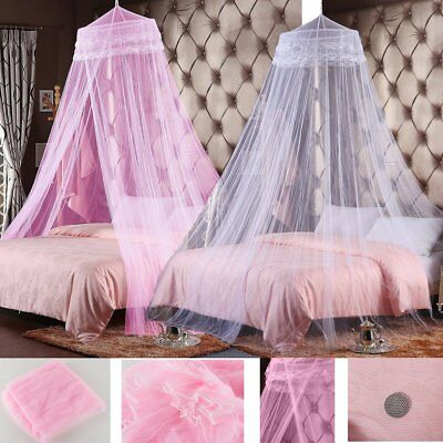 Bed Curtain Dome Girls Mosquito Insect Stopping Double Single Queen Canopy Net