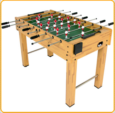 "48"" Wooden Soccer Foosball Table New Model For Kids Arcade Game Free Shipping"