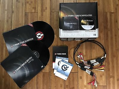 Traktor Scratch Pro Vinyl/Cd Controls+cavi+software