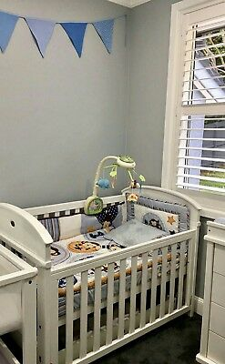 fisher price cot mobile with remote