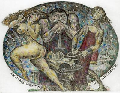 Exlibris erotic Vereschagin