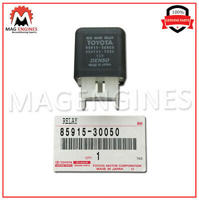 85915-30050 Toyota Genuine Main Relay For Land Cruiser & Lexus Lx470