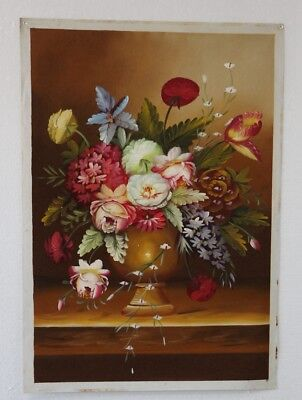 """Oil Painting On Canvas - Hand painted - Flowers   24""""X36""""  YH08"""