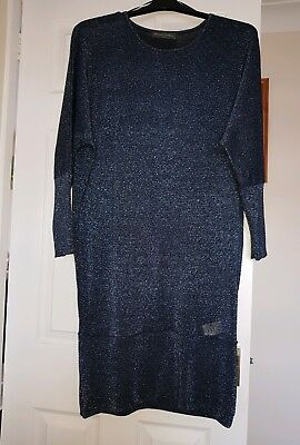 Stunning sparkly Maternity jumper dress from Mothercare size 14.