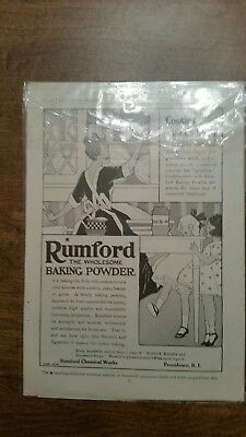 Rumford baking powder sales ad