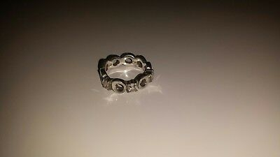 Fossil Ring, 925 Silber