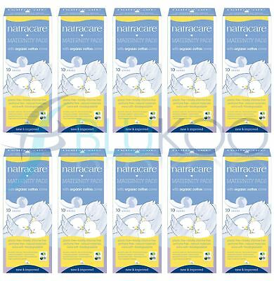 Natracare New Mother Maternity Pads - 10 Pieces (Pack of 10)