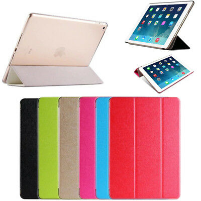 Smart Pu Leather Luxury Slim Case Cover For iPad Mini 1/2/3/4 Air Pro 12.9 GB