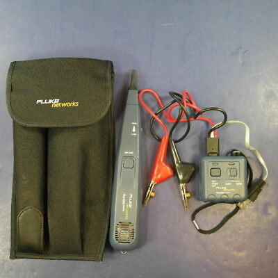 Fluke Pro3000 Probe and Toner, Good Condition, Case