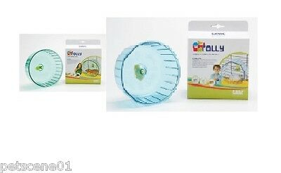 Savic Rolly Solid Exercise Wheel Hamster Gerbil Mice  Cage Attachment 14 Or 18Cm