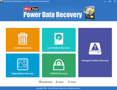 MiniTool Power 7.0  Data Recovery Pro edition!! (recovery all files)
