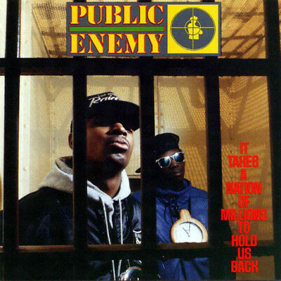 Public Enemy - It Takes a Nation of Millions to Hold Us Back LP Vinyl Hip Hop