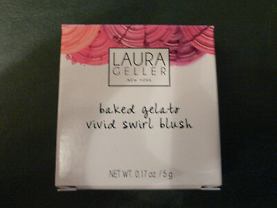 Laura Geller New York Blush Rouge Baked Gelato Vivid Swirl Puder Beauty Kosmetik