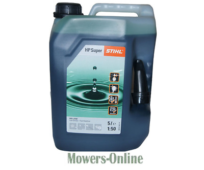Stihl HP Super 5 Litre Can Synthetic 2 Stroke Oil 50:1 4-Mix & Two Stroke Engine