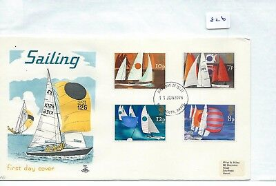 Gb - First Day Cover - Fdc - 826 - Specials - 1975 - Sailing
