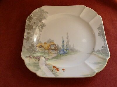 Shelley Cottage 2 Pattern 11621 Cake /bread & Butter Plate