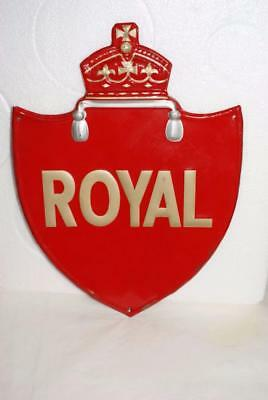 Vintage Royal Mail Canada Post Office Tin Sign / Embossed
