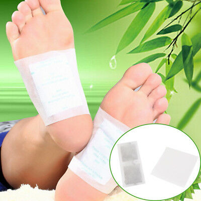 10 PCS Detox Foot Pads Patch Detoxify Toxins Fit Health Care Detox Pad}
