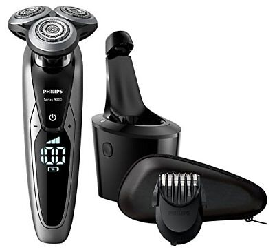 Philips S9711/32 Series 9000 Wet & Dry Men's Cordless Electric Shaver w/Trimmer