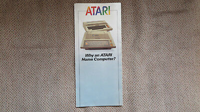 Atari Home Computers Promotional Sales Flyer