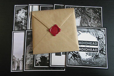 Radiohead 2017 A Moon Shaped Pool Tour 10 Postcards Set Post Card Poster Sticker
