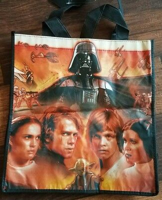 Disney STAR WARS Reusable Shopping ,Grocery, Gift Bag  -NEW
