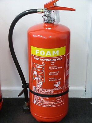 Foam Fire Extinguisher 9ltr with CE/BSI Approval BUY 1 GET 1 FREE