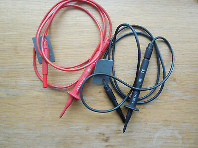 Multi Meter Test Leads Probes For Multimeter CAT III 1000V CE marked tags