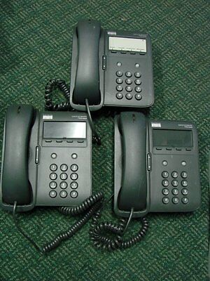 LOT OF 3 Cisco CP-7902G IP Phone **(No power supply and stand)** AS IS