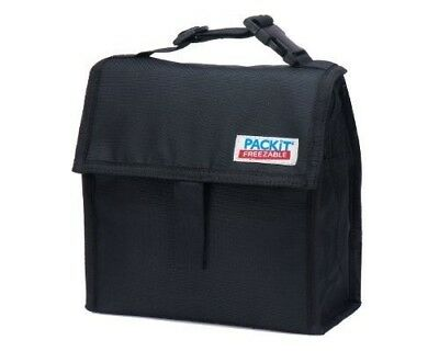 PackIt Freezable Mini Lunch Bag, Black by PackIt LLC. Delivery is Free